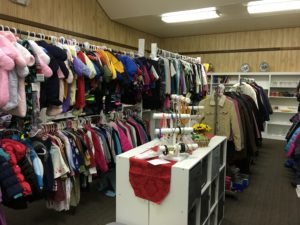 Donations arrive weekly so our Thrift Shop selections are constantly changing!